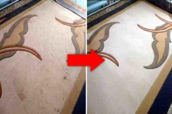 Как быстро и эффективно почистить ковер