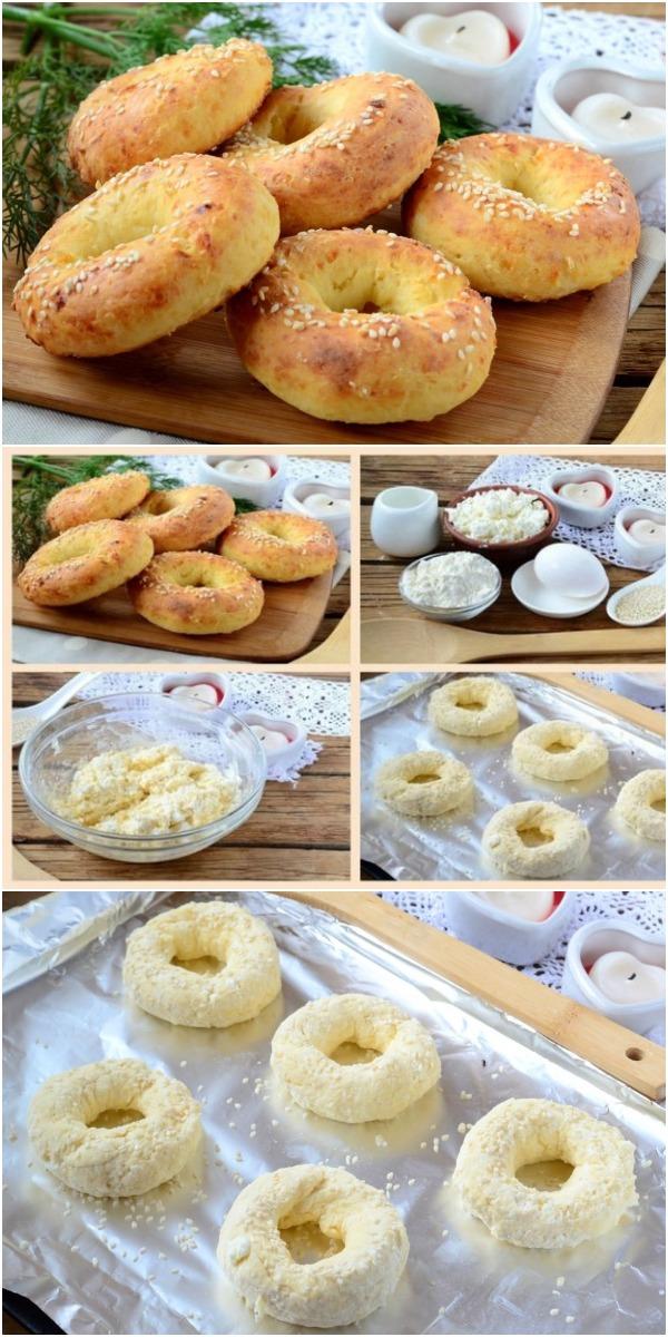 Творожные бублики с сыром – рецепт, рожденный в СССР