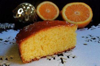 Праздничный апельсиновый пирог. Достойное украшение домашнего чаепития.