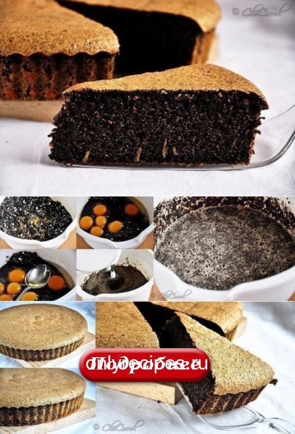 Маковый пирог без муки! НЕЖНЕЙШИЙ ДЕСЕРТ!