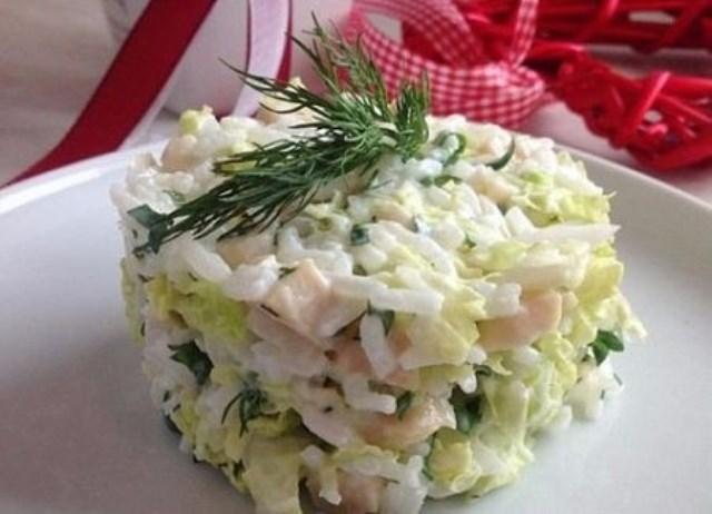 Улетный салат с кальмаром: самый быстрый и проверенный годами рецепт