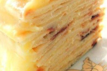 Сказочно вкусный торт с творожным заварным кремом. Давно искала подобный рецепт