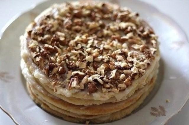 Торт на сковороде за полчаса — простейший рецепт и великолепный вкус