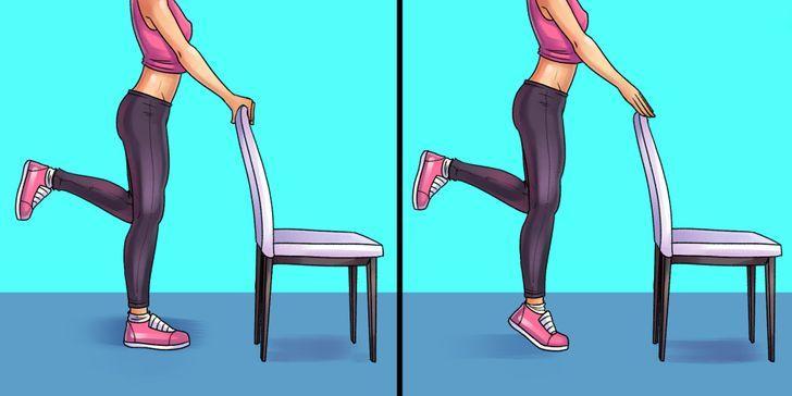 6 упражнений, которые помогут победить боль в коленях, ступнях и бедрах 2