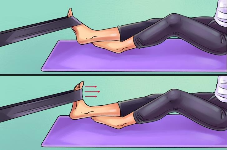 6 упражнений, которые помогут победить боль в коленях, ступнях и бедрах 8