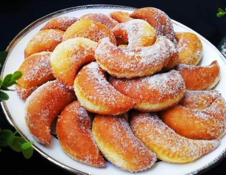 Простой рецепт вкусных сладких пончиков 1