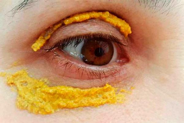 Золотая маска 50+: натуральное средство для кожи вокруг глаз 1