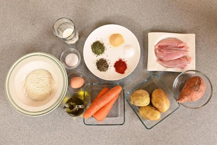 ideal-nyy-obed-dlya-rebenka-kurinye-naggetsy-s-ovoschami-i-tosty-s-avokado-i-domashnim-mayonezom-2-8496365